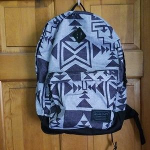 Burton backpack with laptop sleeve
